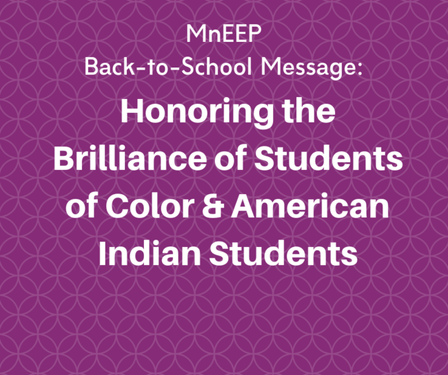 Honoring the brilliance of students of color and American